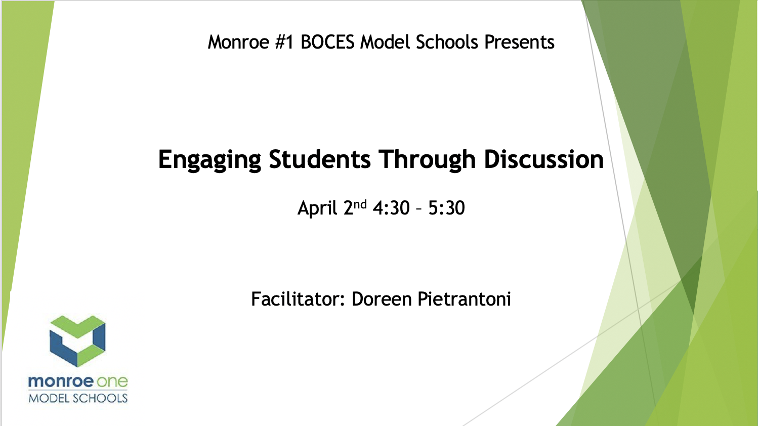 Schoology: Engaging Students Through Discussion (C...
