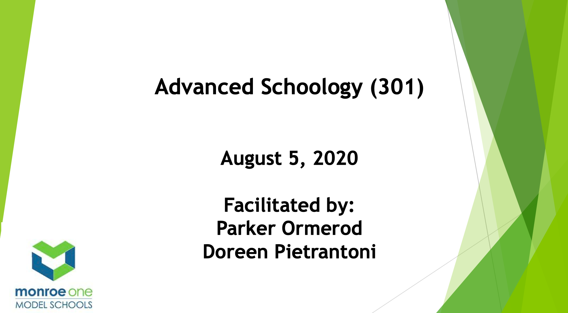 Advanced Schoology