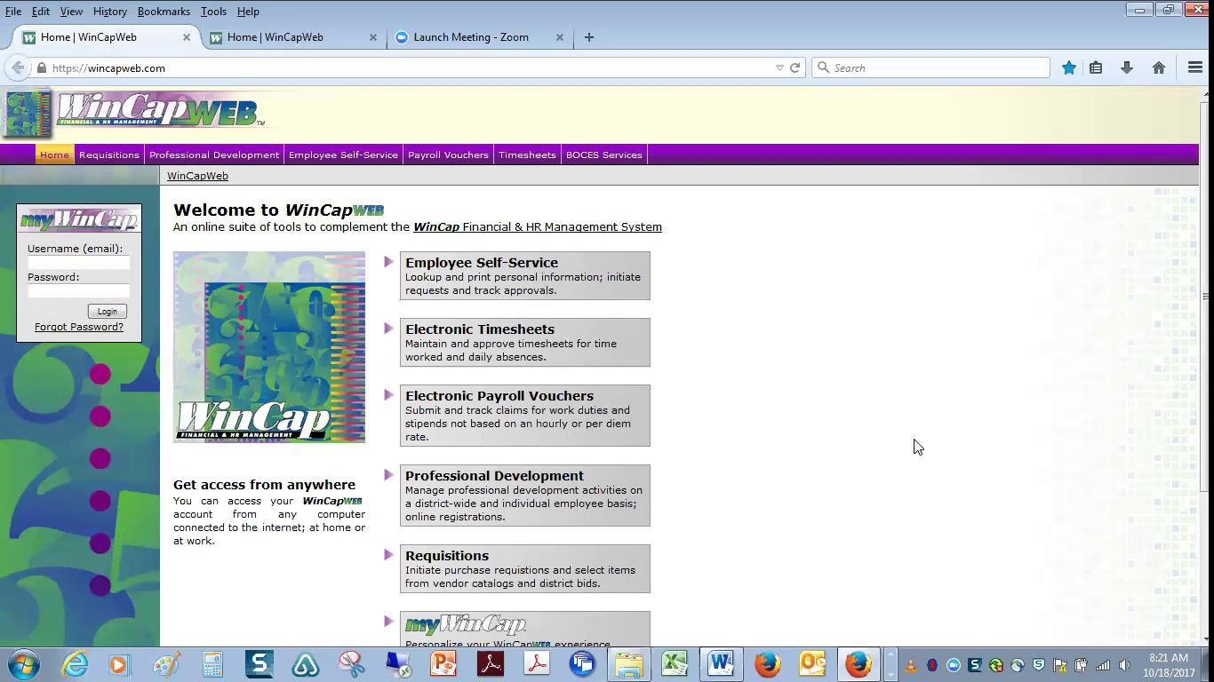 WinCapWeb ESS Supervisor Leave Request Approvals