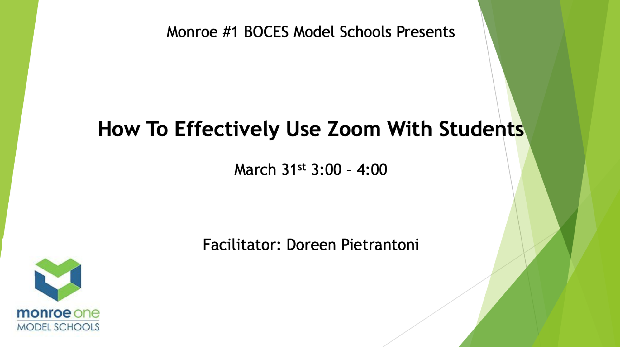 How to Effectively Use Zoom With Students