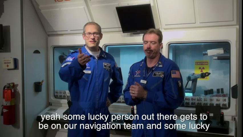 Challenger Learning Center Spacecraft Duties